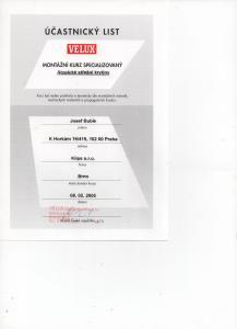 Velux – školení Atypické střešní krytiny