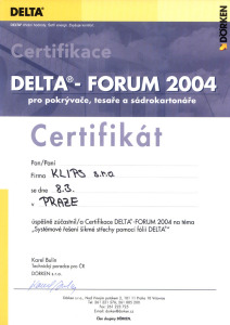 Delta – Forum 2004