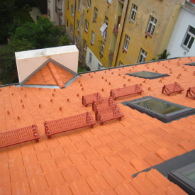 Detaily-střešní prvky Bobrovka - Praha 8