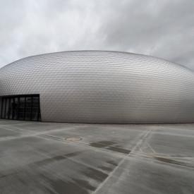 Sportovní hala Břežany