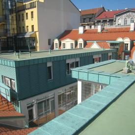 střechy - Praha 1