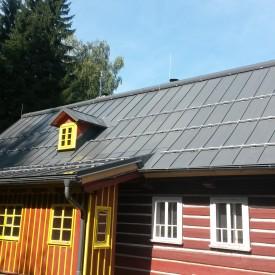 střechy - Kořenov - rheinzink schieffergrau